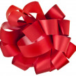 Stock Photo: Gift red ribbon bow