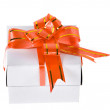 Gift box with bow — Stock Photo #13835980