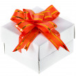 Stock Photo: Gift box with bow