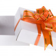 Gift box with bow — Stock Photo #13835987