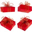 Present box - Stock Photo