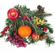 Christmas decoration isolated — Stock Photo #13837753