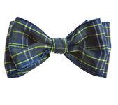 Handmade bow tie — Stock Photo