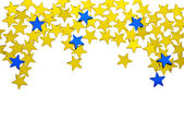 Christmas Star on a white background — Stock Photo
