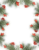 Christmas card with space for your text — Stock Photo