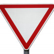 "Road sign ""give way"" - Stock Photo"