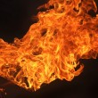 Fire on black background — Stock Photo #13991413