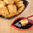 Royalty-Free Stock Photo: Fried tofu, soy products