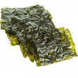 Dried seaweed kelp isolated - Stock Photo