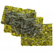 Photo: Dried seaweed kelp isolated