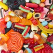 Assortment of colorful jelly candy — Stock Photo #13999319