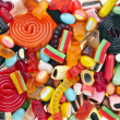 Assortment of colorful jelly candy — Stock Photo #13999324