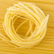 Italian pasta on long spaghetti - Stock Photo