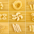Stock Photo: Different kinds of italipasta