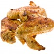 Fried Chicken Wings Isolation — Stock Photo #14128307
