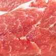 Raw pork steak meat closeup — Foto Stock