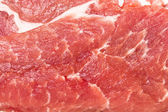 Raw pork steak meat closeup — Stock Photo