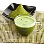 Powdered green tea — Stock Photo #14159904
