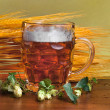 Stock Photo: Mug of beer