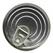 Royalty-Free Stock Photo: Aluminum tin can isolated on white background