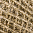 Clew of linen twine background — Stock Photo