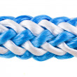 Rope, cable isolated over white - Foto Stock