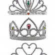 Tiara isolated on white background — Stock Photo #14162551