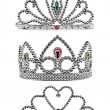 Tiara isolated on white background - Stock Photo