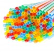 Party flexible straws — Stock Photo