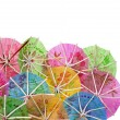 Colourful paper umbrellas — Stock Photo #14162805