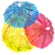 Colourful paper umbrellas — Stock Photo #14162823
