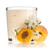 Apricot Smoothie — Stock Photo