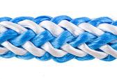 V provazcem kabelové izolované na bílém — Stock fotografie