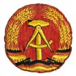 Old the emblem of the German Democratic Republic (GDR) - Stock Photo