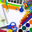 School tools, back to school background — Stock Photo #14379041