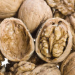 Stock Photo: Kernel of walnuts