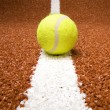 Foto Stock: Tennis ball