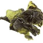 Dried seaweed kelp Isolated on white — Stock Photo