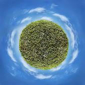 Planet, globe — Stock Photo