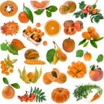 All orange color — Stock Photo