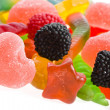 An assortment of colorful jelly candy - Stock Photo