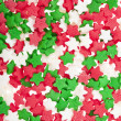 Sugar sprinkles background — Stock Photo
