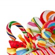Colorful lollipop isolated on white - Lizenzfreies Foto