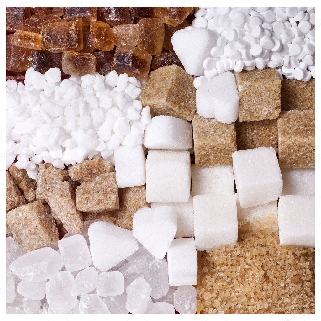 Sugar collection — Stock Photo #14460653