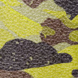 Camouflage texture artificial leather - Stock Photo