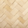 Woven wooden texture — Stock Photo