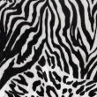 Black and white texture of zebra skin - Stock Photo