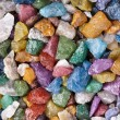 Bright colorful stones - Stock Photo