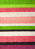Striped towel texture — Stock Photo