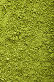 Bakgrund av gröna pulver matcha te — Stockfoto